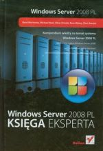 WINDOWS SERVER 2008 PL KSIĘGA EKSPERTA