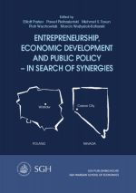 ENTREPRENEURSHIP ECONOMIC DEVELOPMENT AND PUBLIC POLICY - IN SEARCH OF SYNERGIES